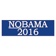Nobama 2016 Bumper Bumper Sticker