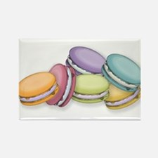 Colorful French Macaron Cookies Magnets