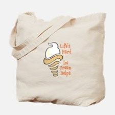 ICE CREAM HELPS Tote Bag