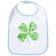 Infinite Luck Four Leaf Clover Bib