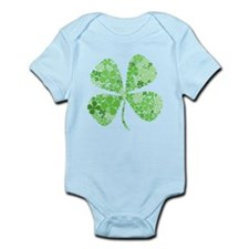 Infinite Luck Four Leaf Clover Infant Bodysuit