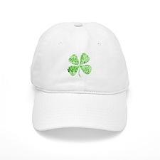 Infinite Luck Four Leaf Clover Baseball Cap