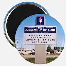 churchsign1 Magnets