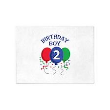 BIRTHDAY BOY TWO 5'x7'Area Rug