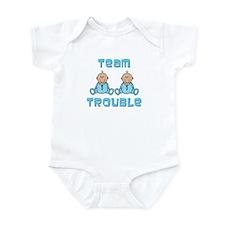 Twin Boys Infant Bodysuit