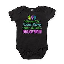 Easter Bunny Doesn't Farfar Will Baby Bodysuit