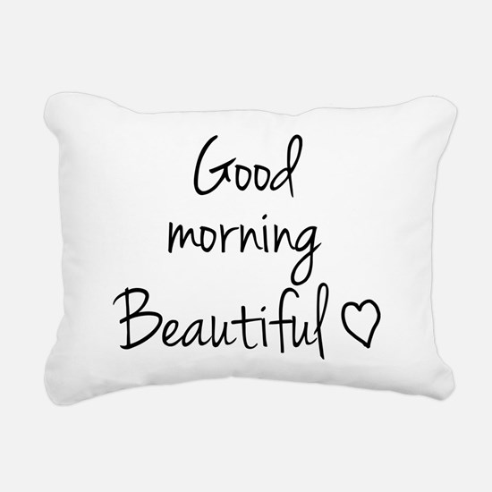 Good morning my love Rectangular Canvas Pillow