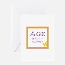AGE IS Greeting Cards