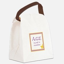 AGE IS Canvas Lunch Bag