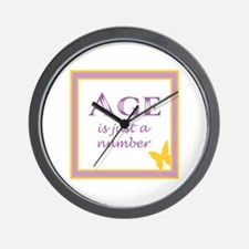AGE IS Wall Clock