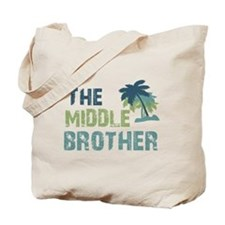 middle brother palm tree Tote Bag