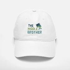 middle brother palm tree Baseball Baseball Cap