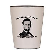 Lincoln: Happy Shot Glass