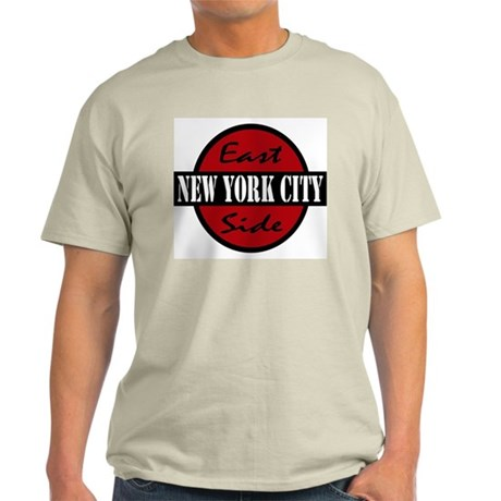 """East Side NYC"" logo Light T-Shirt"