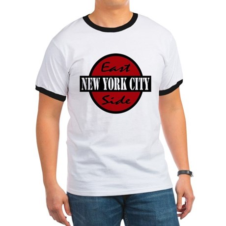 """East Side NYC"" logo Ringer T"