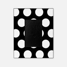 # Black And White Polka Dots Picture Frame