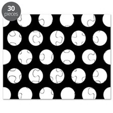 # Black And White Polka Dots Puzzle
