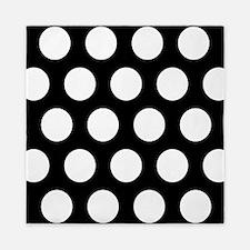 # Black And White Polka Dots Queen Duvet