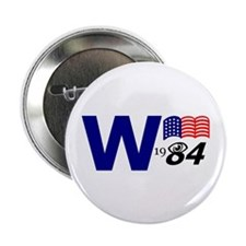 """""""W 1984"""" button"""