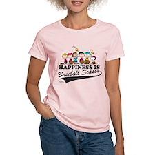 The Peanuts Gang Baseball T-Shirt