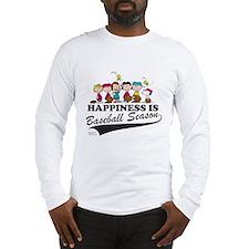 The Peanuts Gang Baseball Long Sleeve T-Shirt