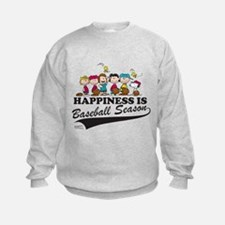 The Peanuts Gang Baseball Sweatshirt