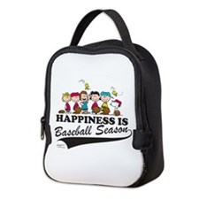 The Peanuts Gang Baseball Neoprene Lunch Bag
