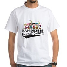 The Peanuts Gang Baseball Shirt