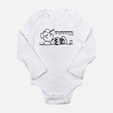 Charlie Brown Philosop Long Sleeve Infant Bodysuit