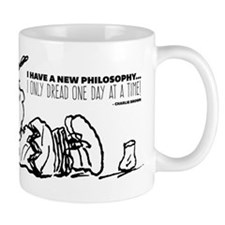 Charlie Brown Philosophy Mug