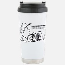 Charlie Brown Philosoph Travel Mug