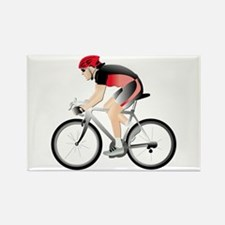 Cycling without Text Rectangle Magnet