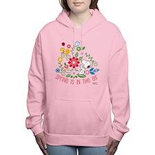 Snoopy Spring Women's Hooded Sweatshirt