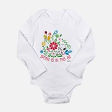 Snoopy Spring Long Sleeve Infant Bodysuit