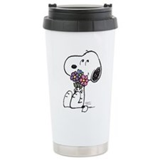 Springtime Snoopy Travel Mug