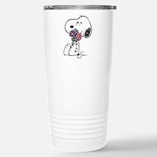 Springtime Snoopy Travel Mug