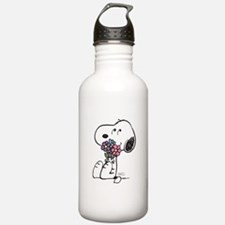 Springtime Snoopy Water Bottle