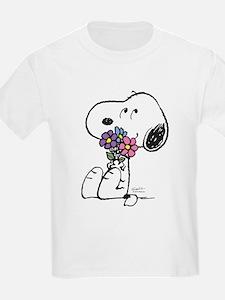 Springtime Snoopy T-Shirt