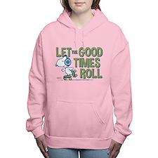 Snoopy Skate Women's Hooded Sweatshirt