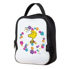 Woodstock Peace Neoprene Lunch Bag