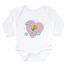 Valentine's Woodstock Long Sleeve Infant Bodysuit