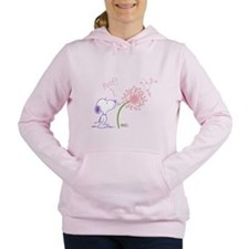 Snoopy Dandelion Women's Hooded Sweatshirt