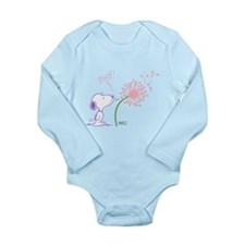 Snoopy Dandelion Long Sleeve Infant Bodysuit