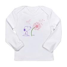 Snoopy Dandelion Long Sleeve Infant T-Shirt