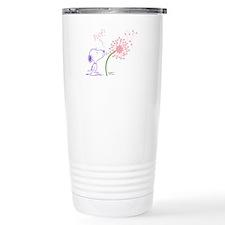 Snoopy Dandelion Travel Coffee Mug