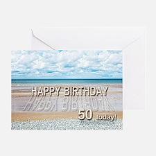 th birthday beach th birthday beach greeting cards  card, Birthday card