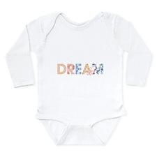 Snoopy Dream Long Sleeve Infant Bodysuit