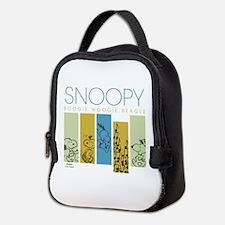 Boogie Woogie Snoopy Neoprene Lunch Bag