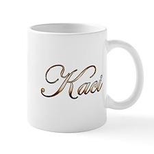 Gold Kaci Mugs