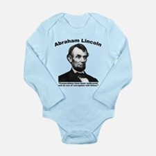 Lincoln: Corps Long Sleeve Infant Bodysuit
